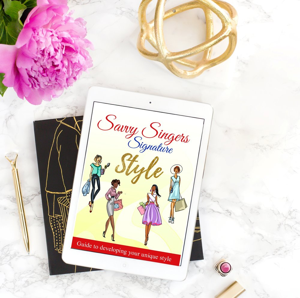 Savvy Singers Signature Style Guide   $47.00