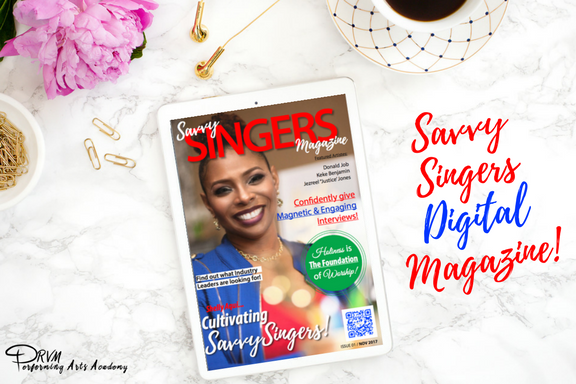 Savvy Singers Digital Magazine.  $3.00