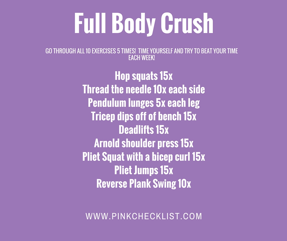 Time CrunchWorkout(5)