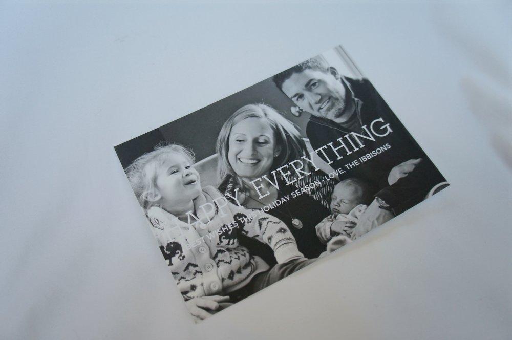 Holiday Basic Invite card