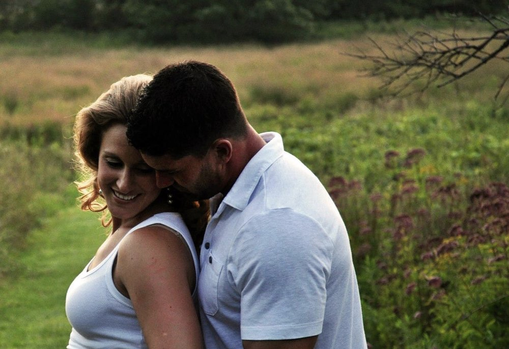 Photography by Sarah Renzoni (one of our maternity pictures zoomed in)