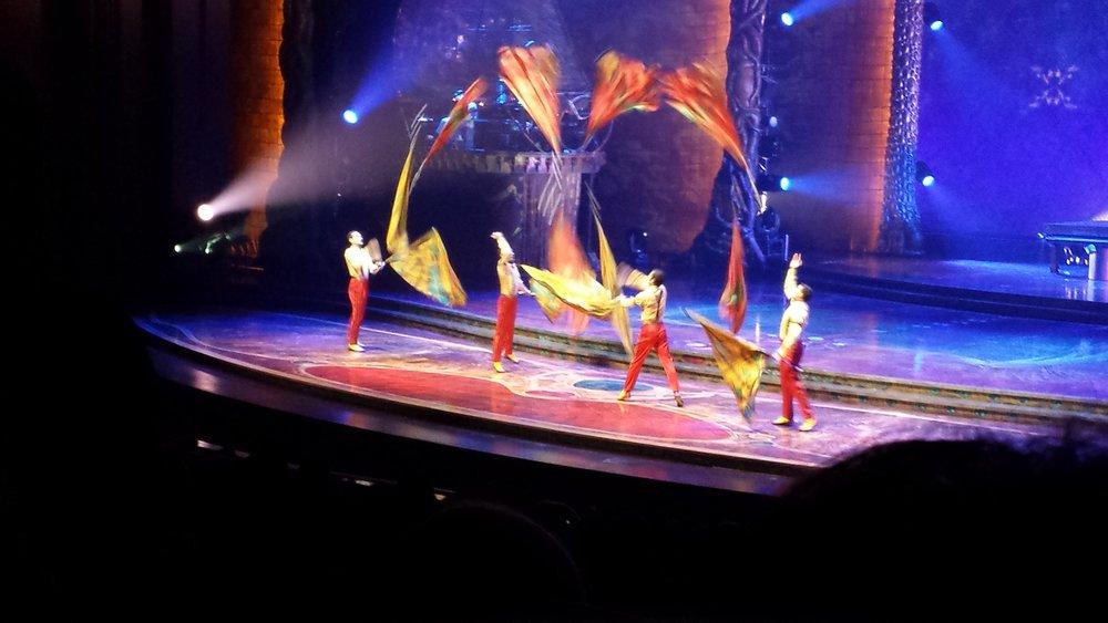 Zarkana, by Cirque du Soleil