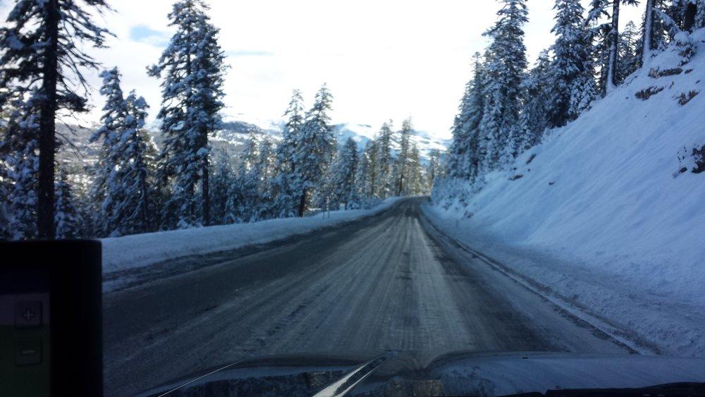 Nearing Carson Pass