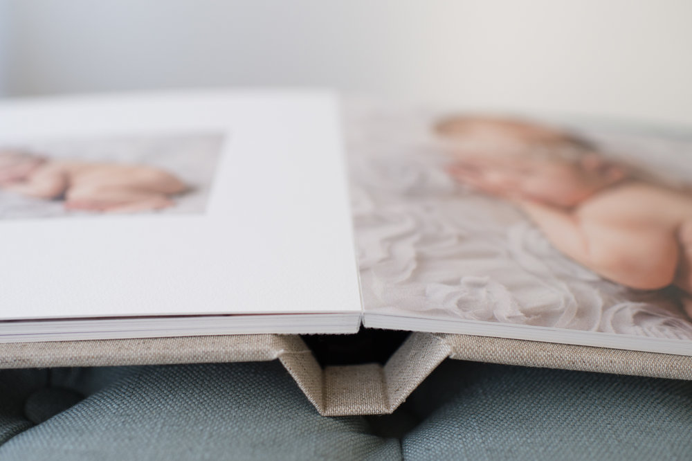 Sweet Light Portraits offers beautifully bound custom albums for your custom family photography sessions. These hand made find art albums will serve as family heirlooms and forever remind you of when your children were young.