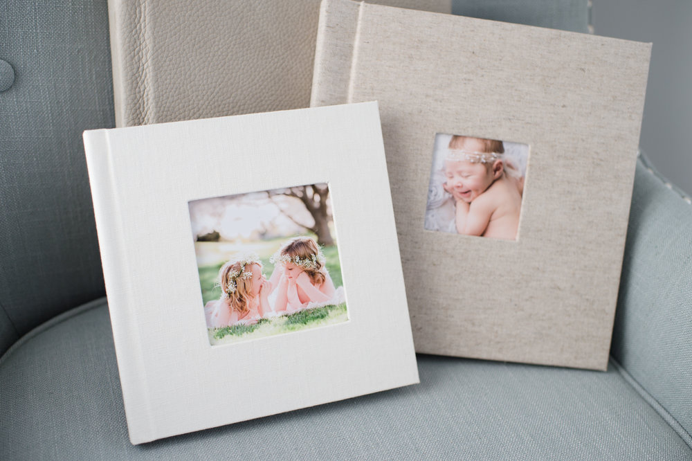 Sweet Light Portraits offers many photographic products you can add on to any session. Some of our favorites include custom canvas prints, gift prints, fine art albums and more.