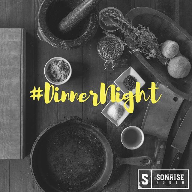 Tonight is Dinner Night! Invite a friend and win Dutch Bros! #dinnernight #invitenight #sonriseyouth