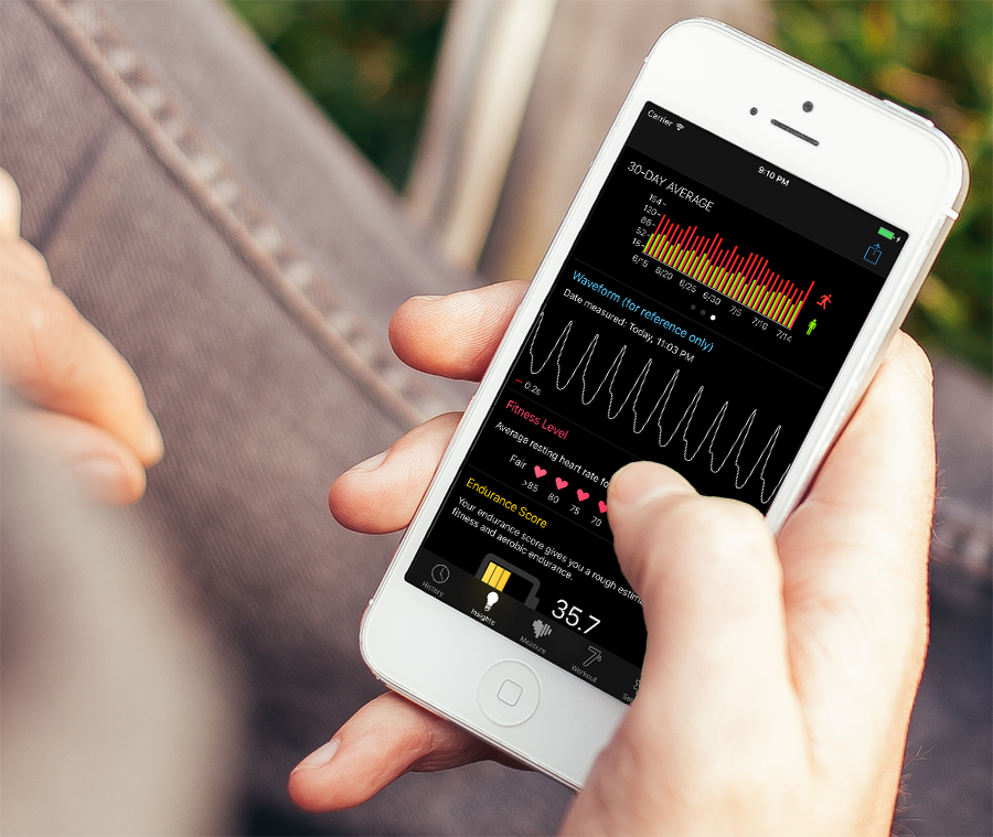You can now check your heart rate using only your smartphone and an app