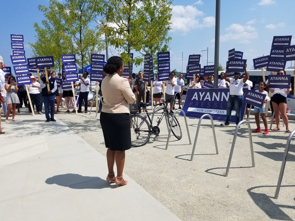 Committee to Elect Ayanna Pressley Campaign (MA-7)