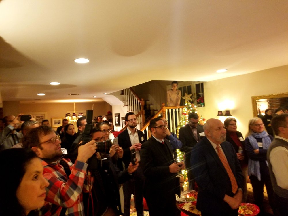 Candidate for Boston City Council At-Large, Alejandra St. Guillen, Grassroots Fundraiser, Boston, MA (November 2019)