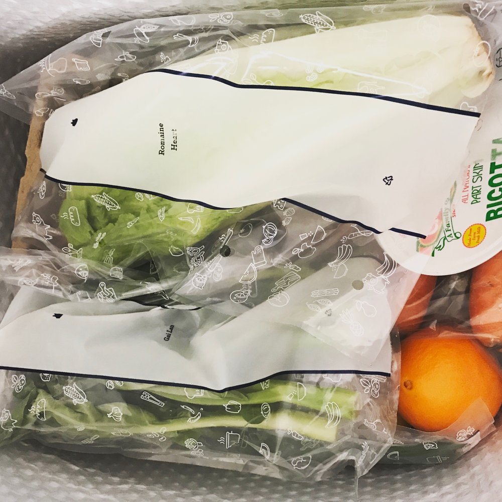 What's in the Blue Apron Box