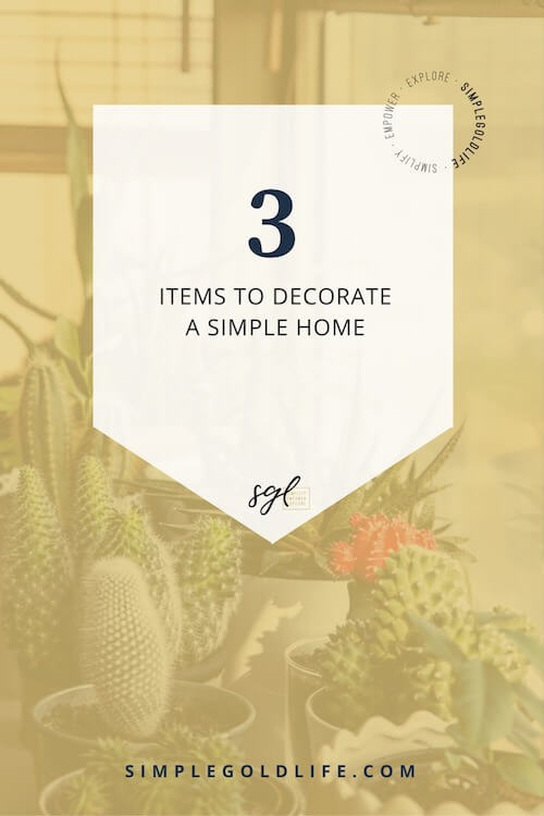 When you're simplifying your home it may be difficult to add decor without over doing it. Use these 3 simple rules to decorate a simple home. Guest Blog By Renee-Claude Gratton from mauveinteriors.com