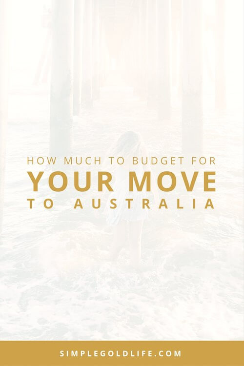 If you ever had dreams of traveling, I'm sure you have also had dreams of moving abroad. I had dreams of Moving to Australia, but I had no idea that I could do this! The Working Holiday Visa allowed me to live and work down under for a year! But I wasn't sure how much it would cost to move to Oz. Here's how much to budget for your move to Australia. SimpleGoldLife.com