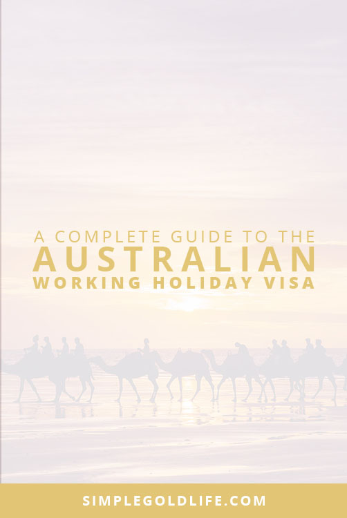 Have you ever wanted to live in Australia? Well, the Working Holiday Visa allows you to live and work Down Under for 12 months! If you want to learn more here's a complete guide to the working holiday visa! SimpleGoldLife.com - Work and Holiday Visa, 462 Visa, Living Abroad, Moving Overseas, Expat, Americans in Australia