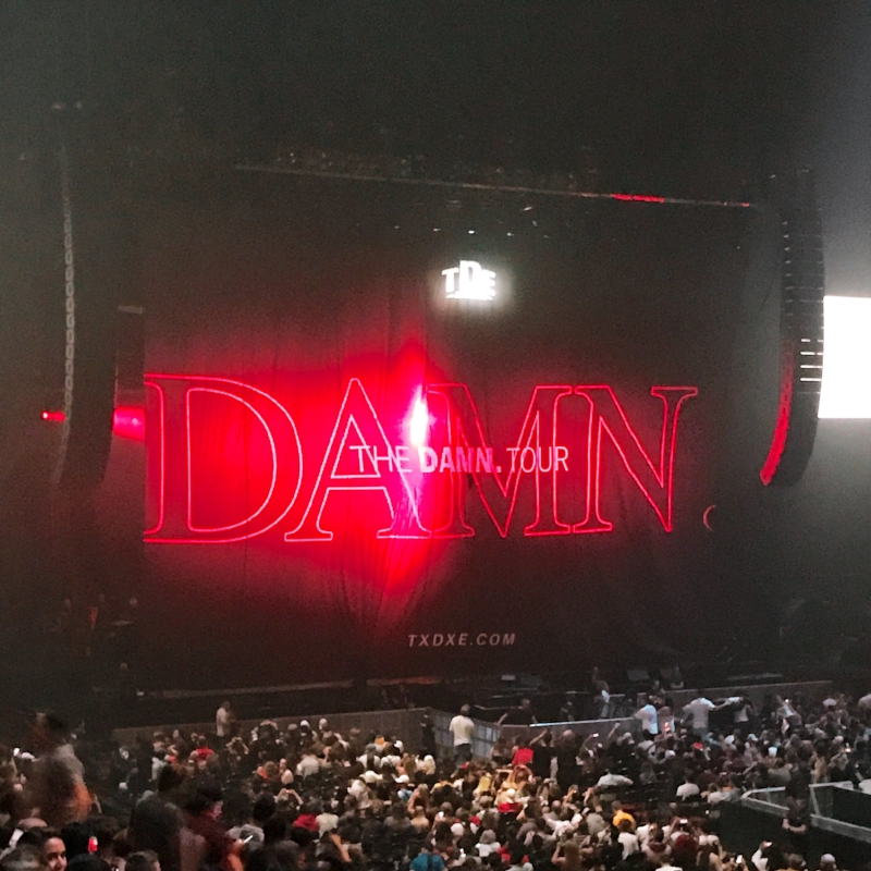 Seats upgraded at the Kendrick Lamar Show - Bell Centre Montréal