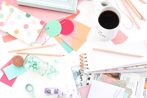 Want to kickstart your decluttering? Try the tip of sorting your papers. It's amazing how much clarity it can provide! Get all of the 7 Best Tips To Start Your Decluttering Journey at SimpleGoldLife.com