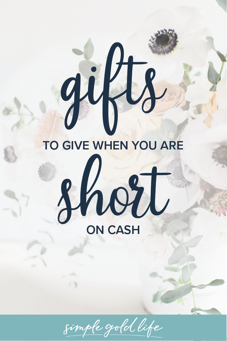 The best alternative gifts you can give when you are broke, stressed, or just trying on minimalism for any holiday or birthday. #giftgiving #alternativegifts #minimalistgifts