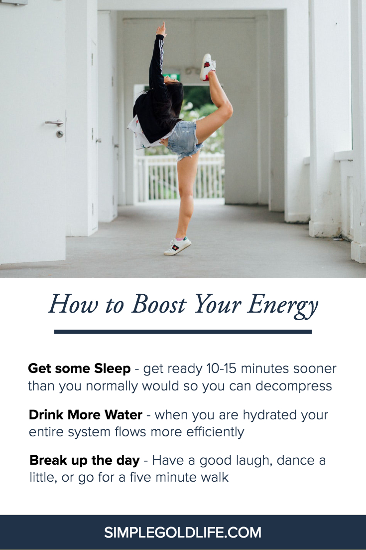 We are busy and we are tired!! But these simple tips will boost your energy and motivate you to get your morning or any part of your day back on track #boostyourenergy #freeenergydownload #overcometired