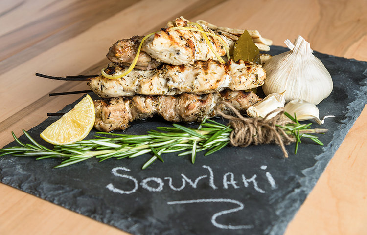 Souvlakibar Festive Greek Restaurant Alexandria Va