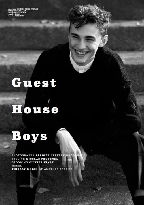 GUEST HOUSE BOYS FOR CLIENT MAGAZINE US #10 — ELLIOTT JEFFREY MACDONALD