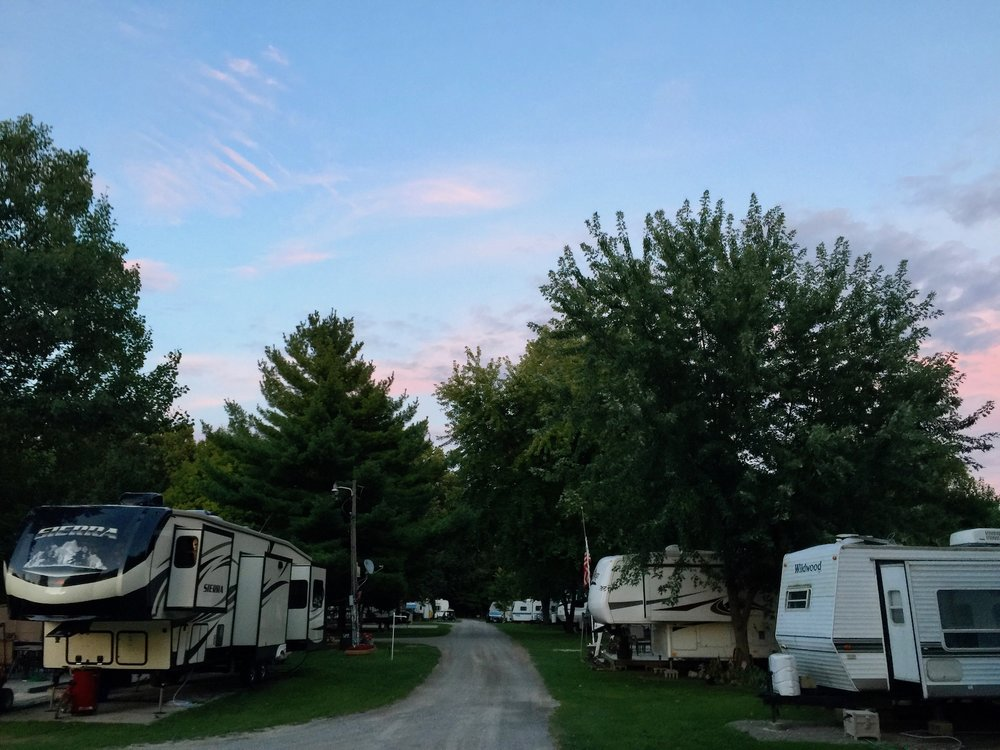 permanent campgrounds in ohio