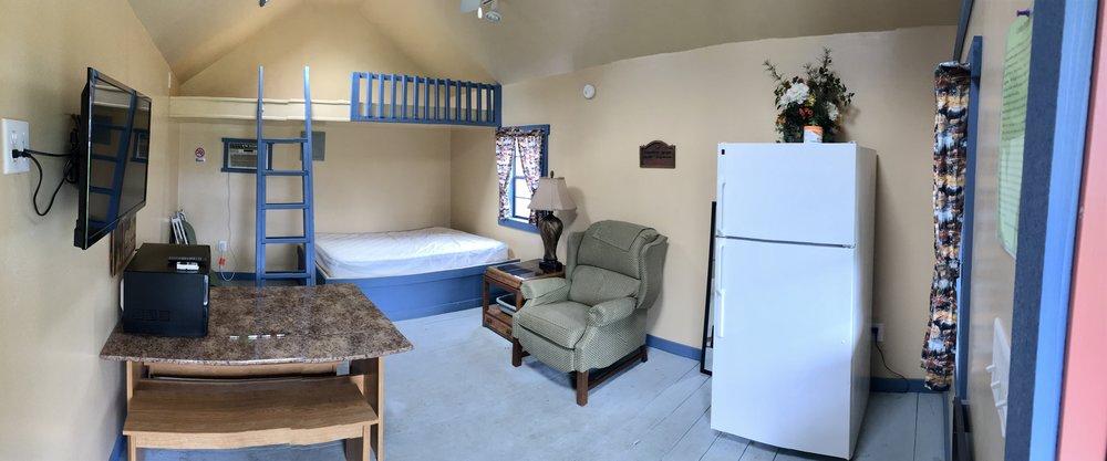 Rustic Cabin 1 Interior