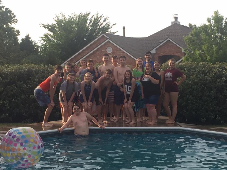 Senior High Promotion Swim Party
