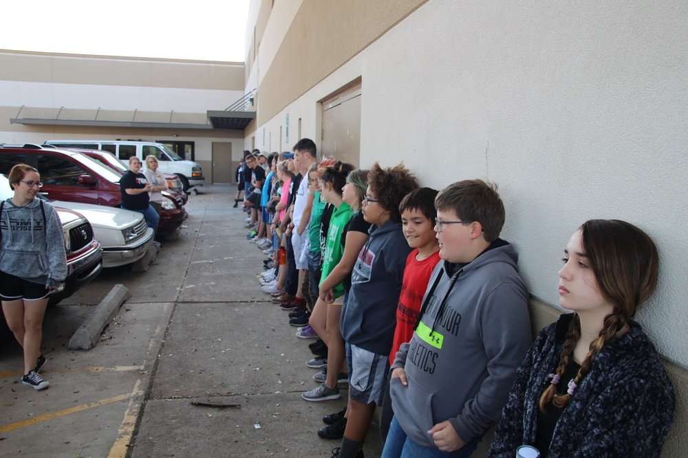 40 youth about to serve at Skyline during the mission lock-in.
