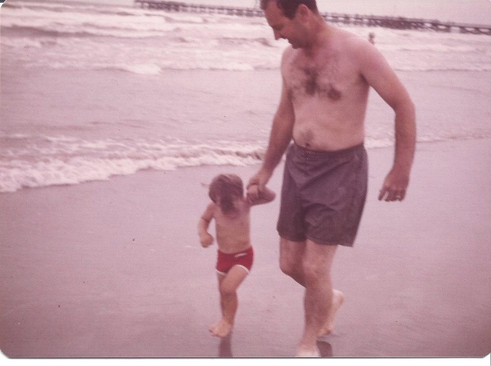 Here I seek to walk as my dad walked at an early age. I later learned there was more to it than this!