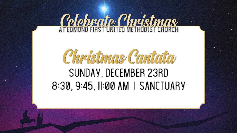 Christmas Cantata.Christmas Cantata First United Methodist Church Of Edmond