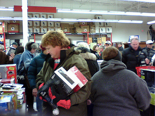 Does Black Friday shopping ever help us in our good will toward others?