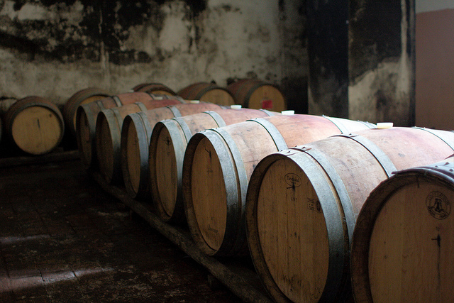 Jesus produced wine to the equivlent of about three of these barrels.
