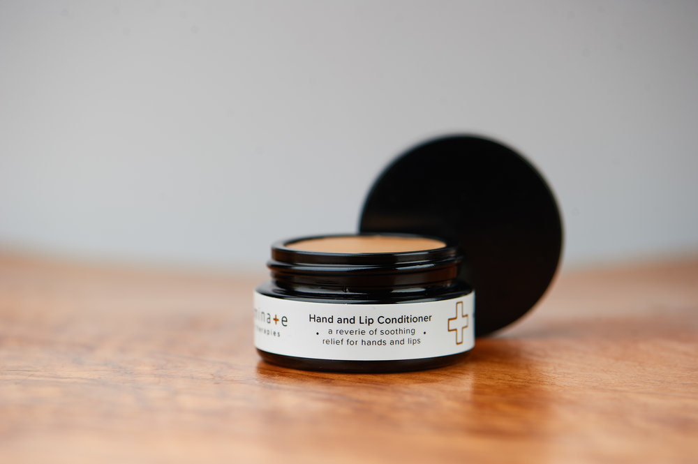 Hand and Lip Conditioner   A minimalist's dream come true. A balm for both hands and lips that leaves you feeling moisturized and protected.