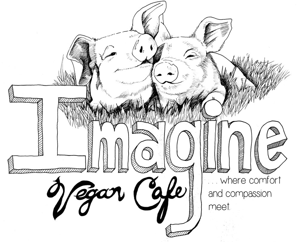 IMAGINE VEGAN CAFE IS A FAMILY OWNED AND OPERATED SPECIALIZING IN REAL FOOD FOR PEOPLE