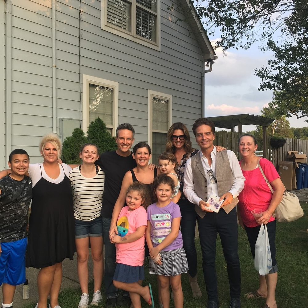 Daisy Fuentes-Marx and Richard Marx at The Gentle Barn Tennessee!