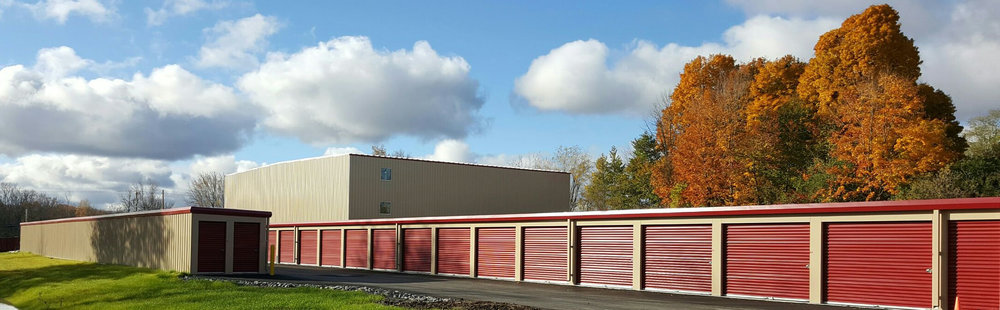 Park Grove Realty's Erie Station Storage offers drive-up exterior units.