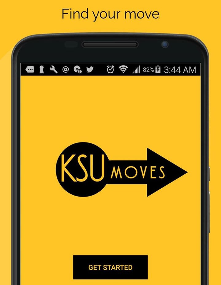 KSU is meant to be the one stop app for students entire college experience, helping students keep up with what's going on around Kennesaw. It provides a list of every organization's events and details, event remainders, and one click rides to events and restaurants.  -