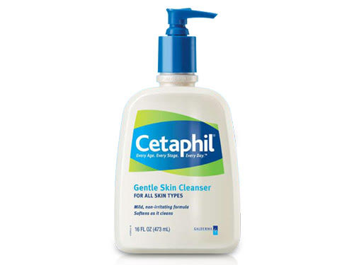 Cleanser: Cetaphil Gentle Skin ($10) - This is an awesome cleanser for any skin type but it's perfect for dry skin because it's lightweight and will thoroughly cleanse and purify the skin without irritating or drying it out.