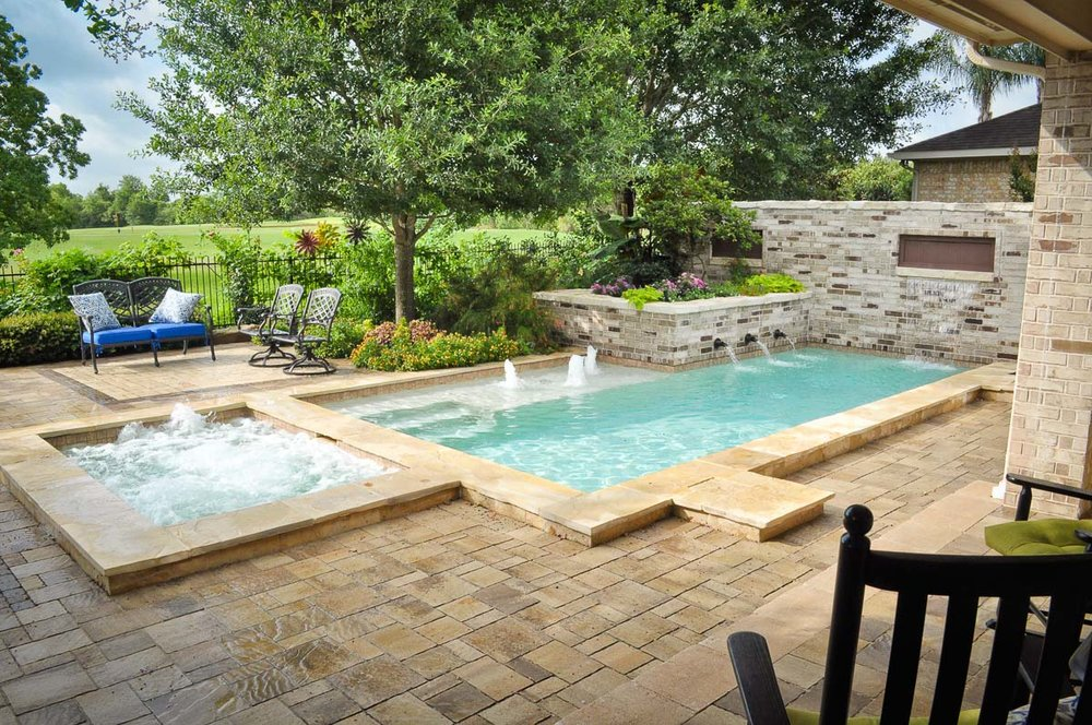 Small Pools — Mirror Lake Designs