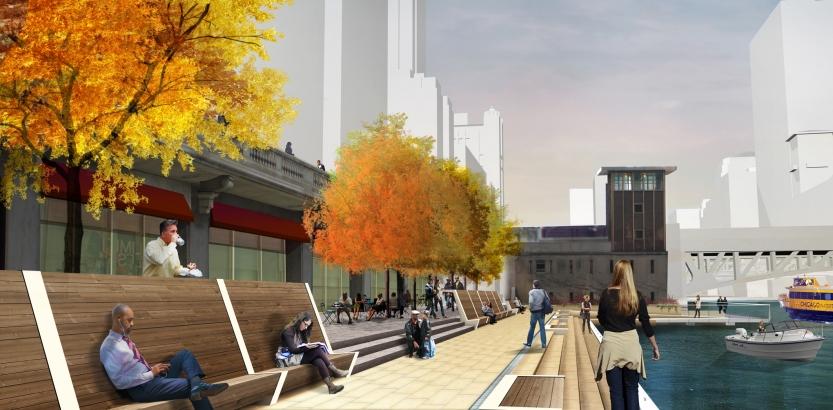Chicago Riverwalk Proposal
