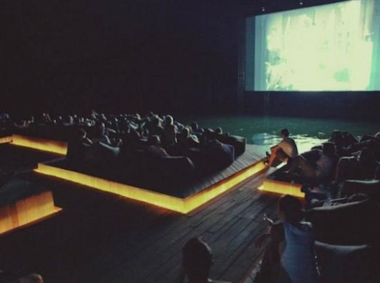 Ole Scheeran's Floating Cinema