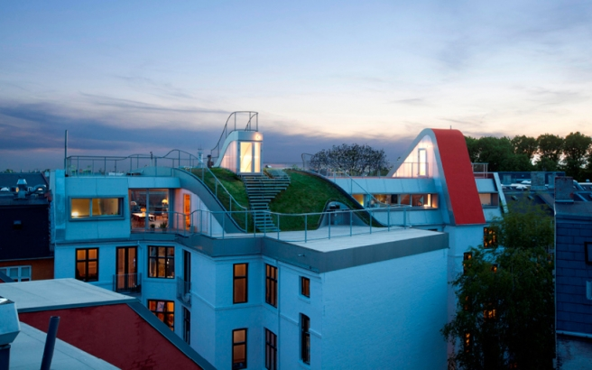 Hedonistic Rooftop Penthouses
