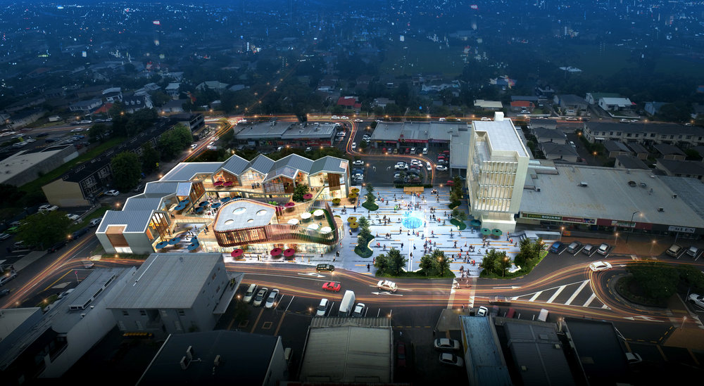 glen eden town centre vision