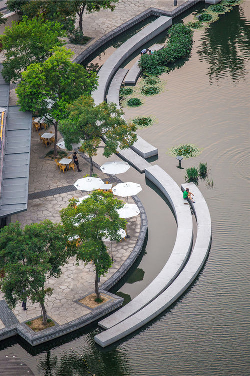 The Town River is located at the south of urban core commercial pedestrian  street, and it is started from Gudu Harbour on the east and extended to  Gangcheng ... - Town River<span Class=