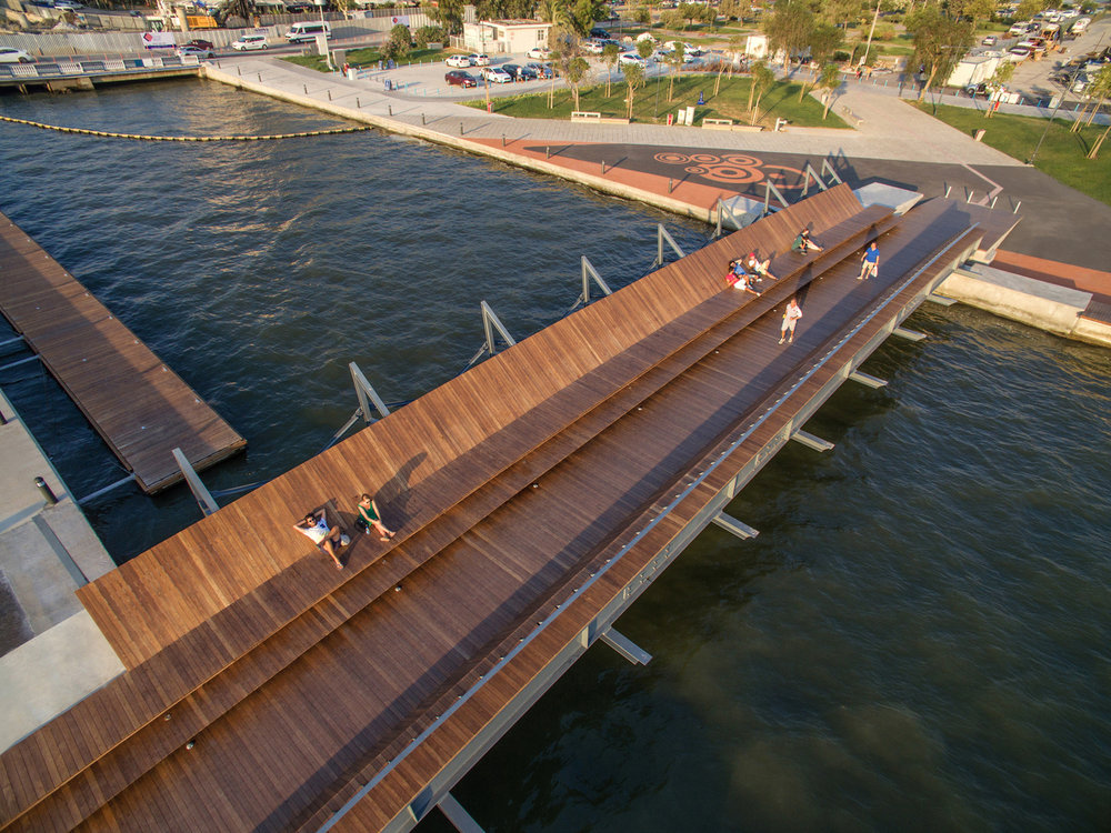 bostanlı footbridge + sunset lounge