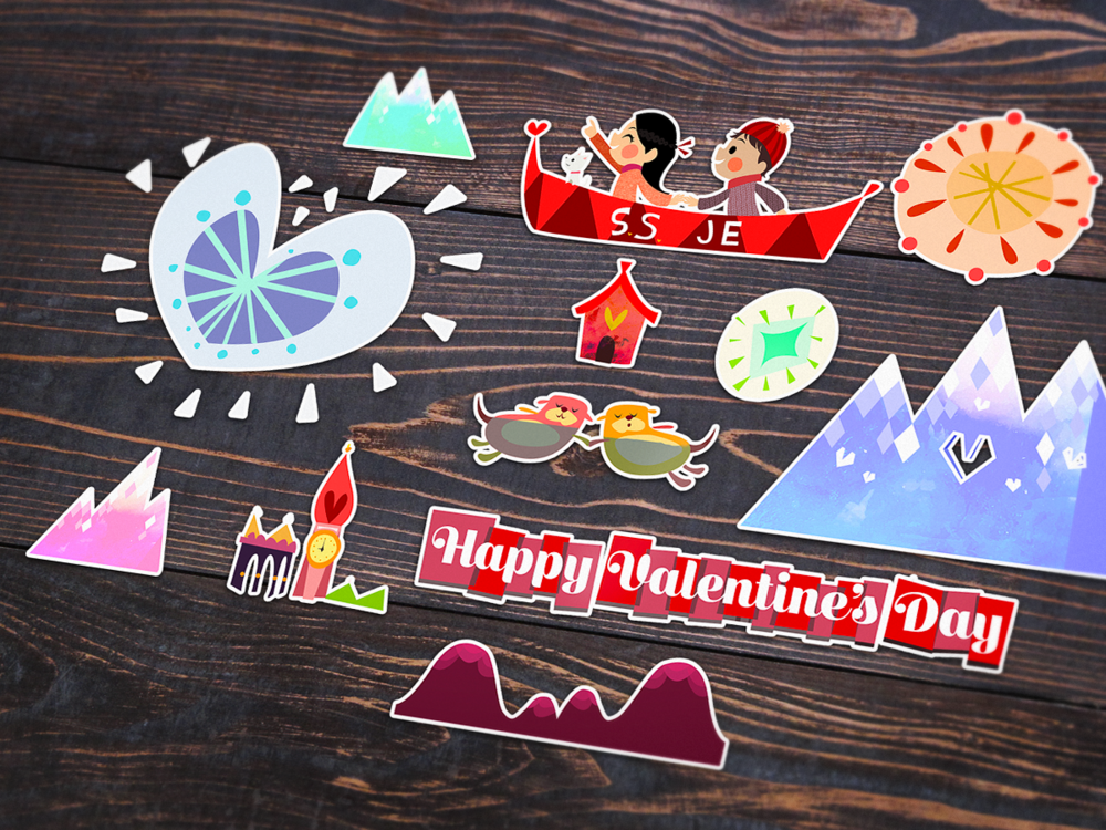 valentines.stickers