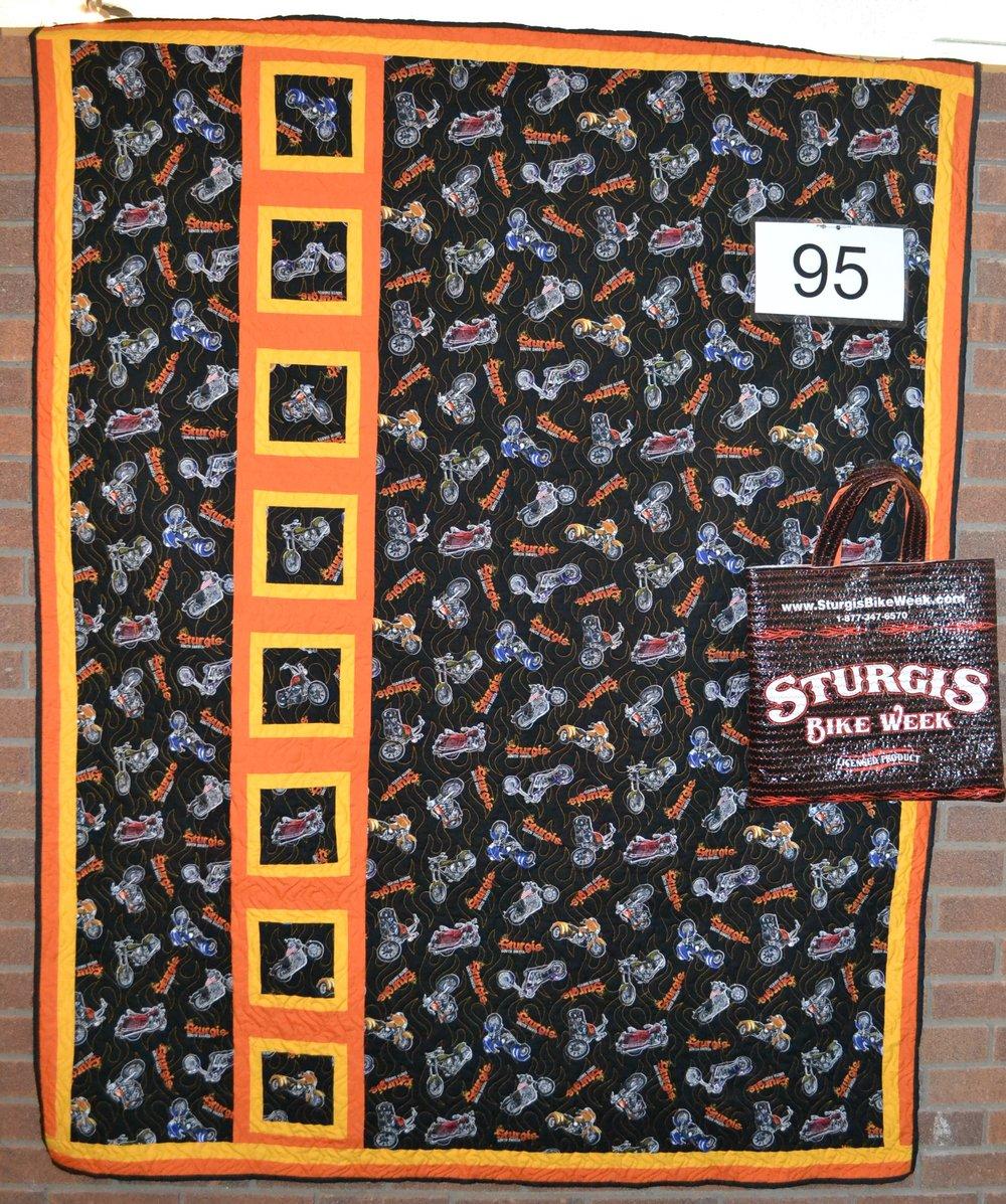 """#95  Size is 55""""X70"""" w/bag"""