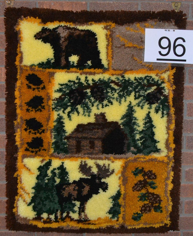 #96  Hook rug
