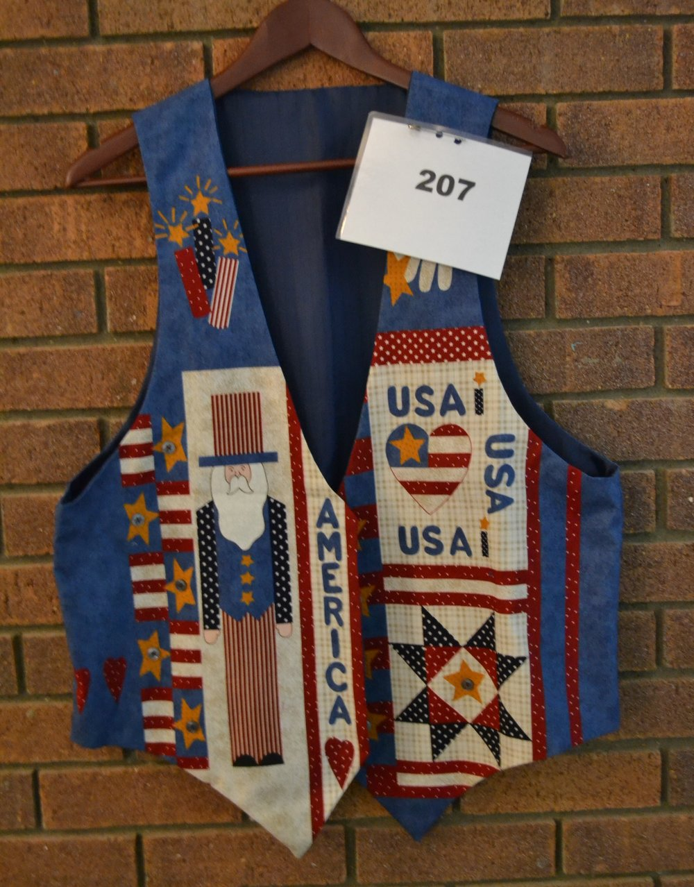 #207  Patriotic Vest