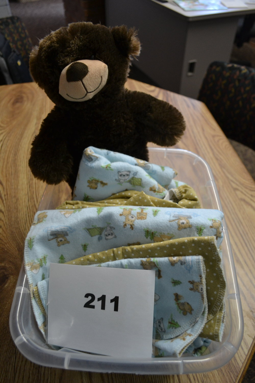 #211 Baby Bear Basket