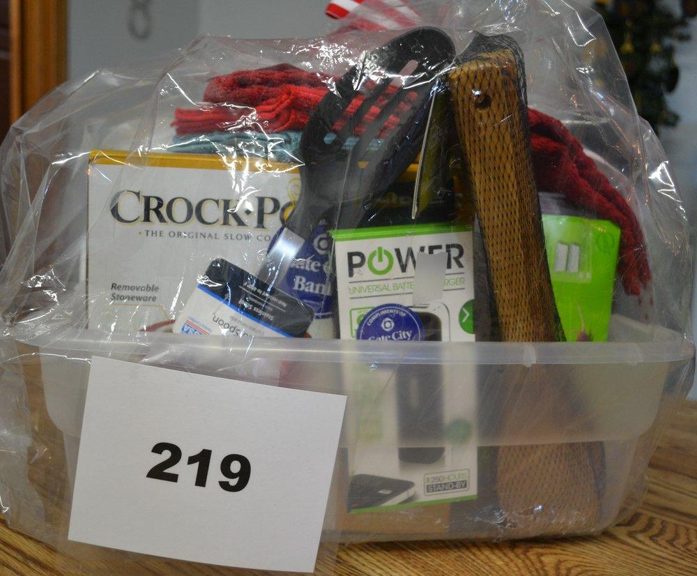 #219  Kitchen Items - small crockpot